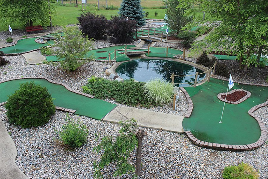Miniature Golf  Coldwater Falls